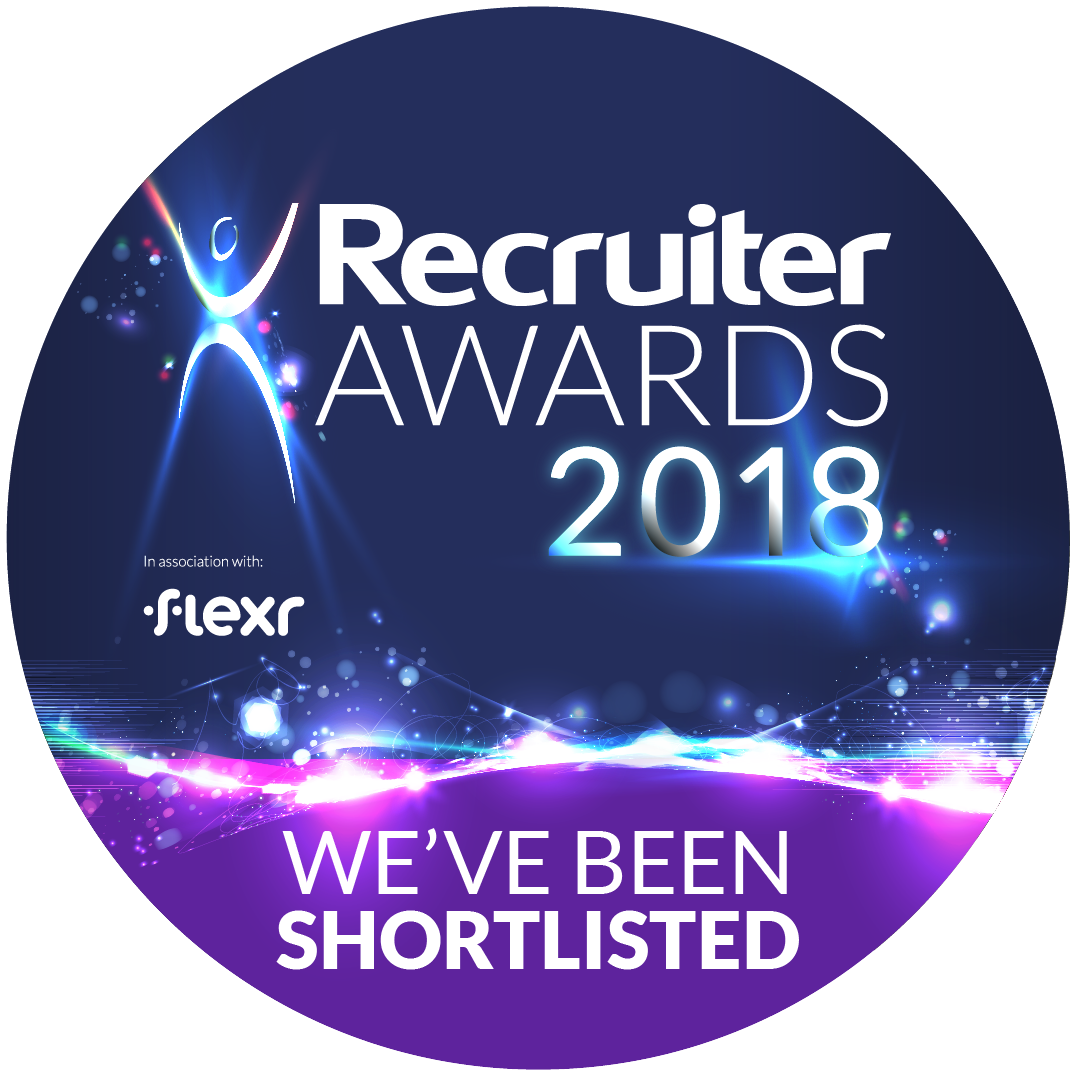 Recruiter AWARDS18-official logo_WEVE BEEN SHORTLISTED